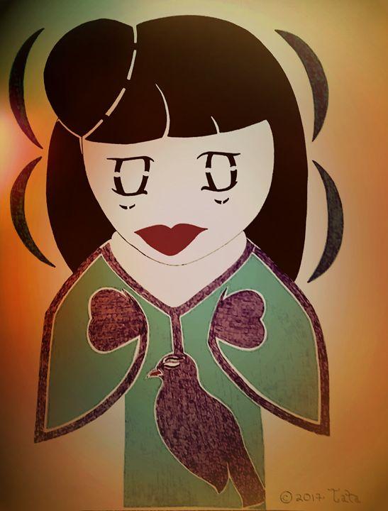 Geisha Moon Doll Two - Tata Kimfa