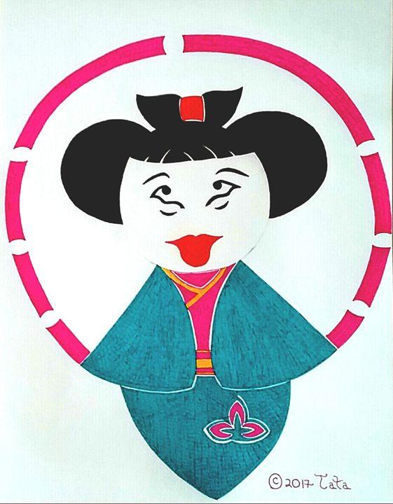 Geisha Doll Jumping Rope - Tata Kimfa