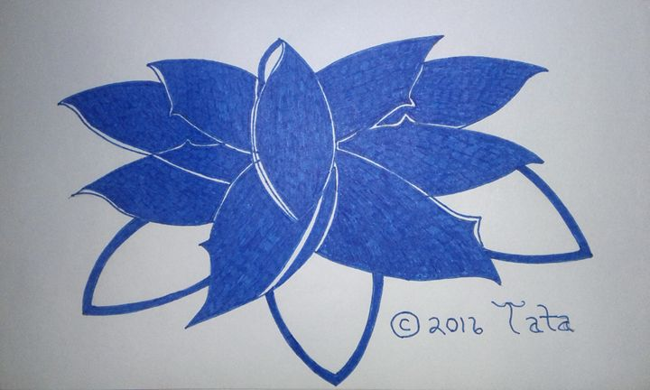 Sealed in Blue - Tata Kimfa
