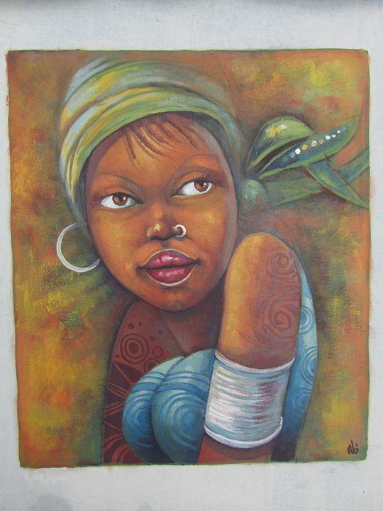 Afro American beauty - African Art