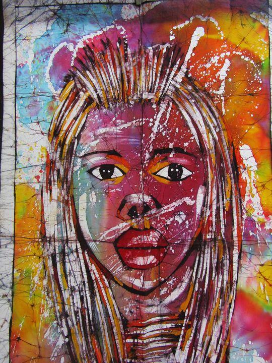 Beautiful girl - African Art