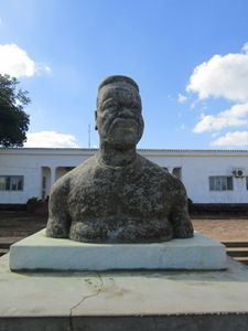 Statue of the last King- Mozambique