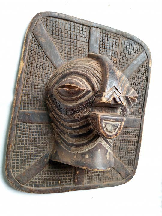African mask,Songye tribe mask,Congo - ArtWorld222