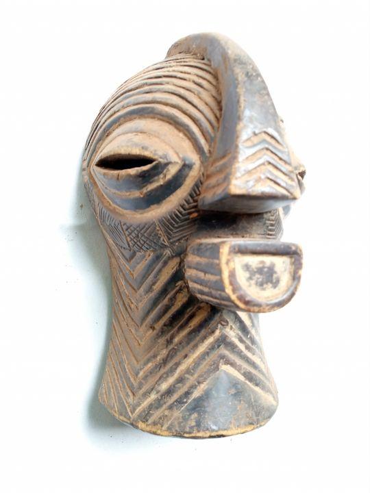 African mask,Songye tribe,Congo mask - ArtWorld222