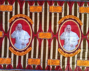 Pope Francis fabric