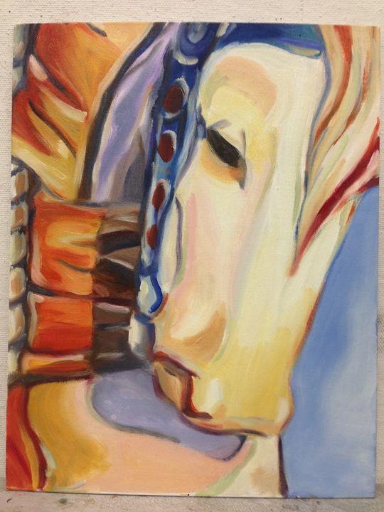 Carousel Horse - Mae's Art