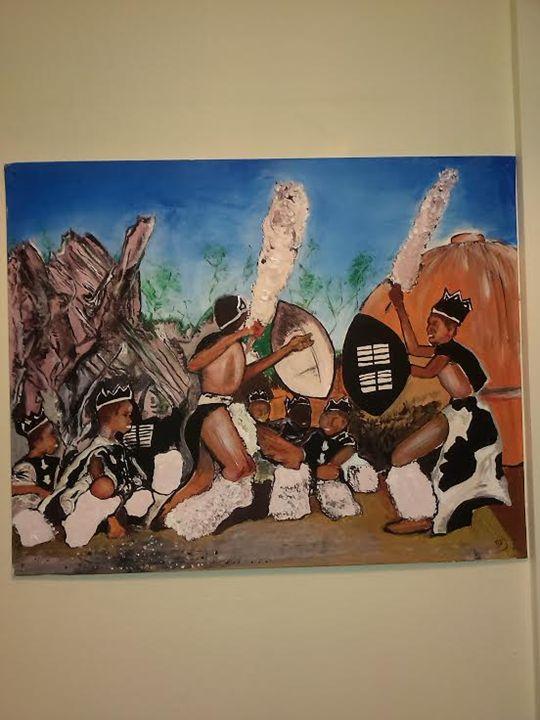 Zulu Dance - sojart