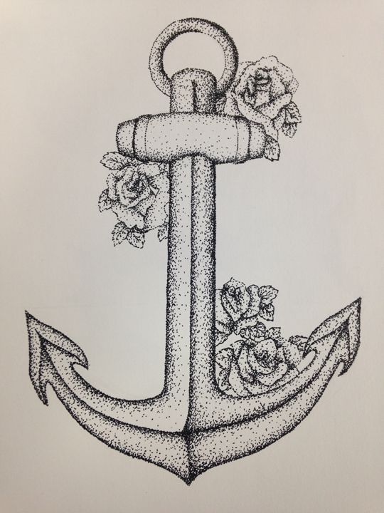 Rose and Anchor - Maelid