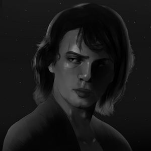 Anakin Skywalker Portrait