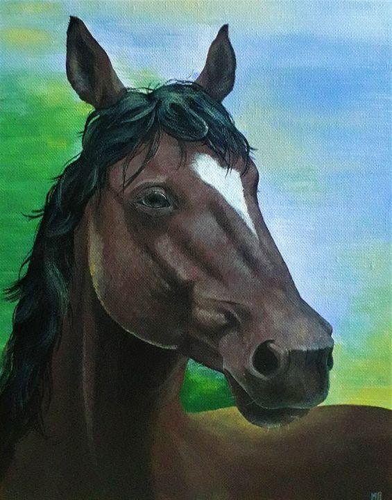 Horse Portrait - Mihaela Pelicheva