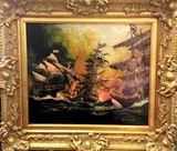 60x50cm, oil on canvas
