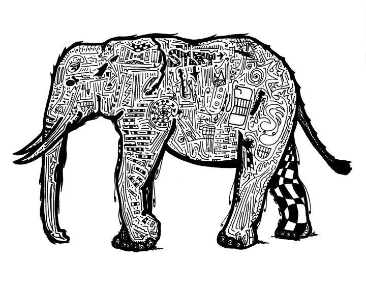 Amazin' Elephant // Solvable Maze - The Artist MSG