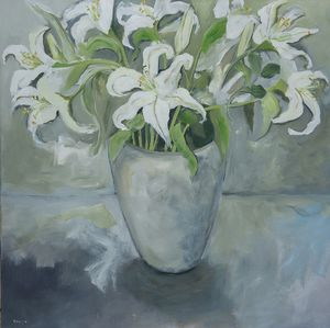 Pot of St.Joseph Lilies
