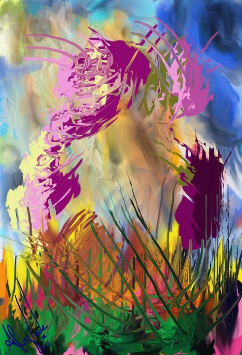 Abstract nature - alozadea