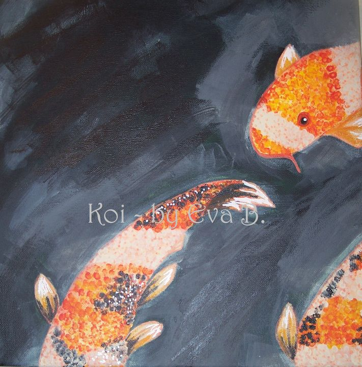 Koi - Buttercup's Art and Collectables