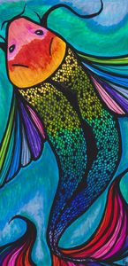 Rainbow Koi