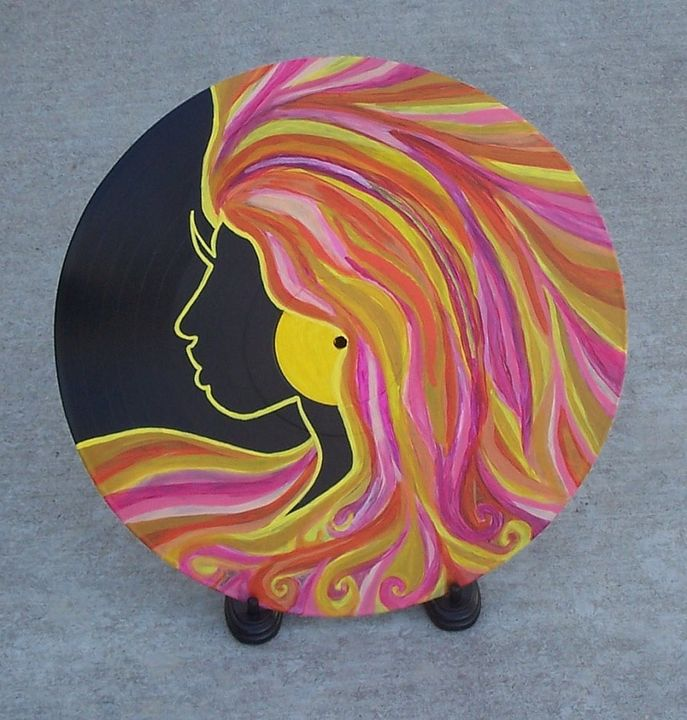 Lady Sunrise - Buttercup's Art and Collectables