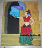 Painting of Belly Dancer