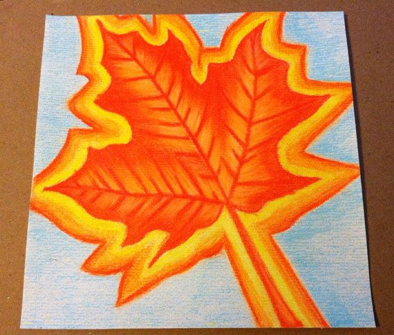 Fall Leaf - Ashley G's Still Lifes and More