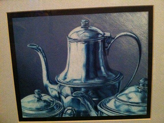 Blue/White Tea Set - Ashley G's Still Lifes and More