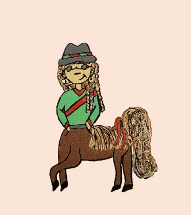 Calalia, The Centaur Girl - Focus Point Art
