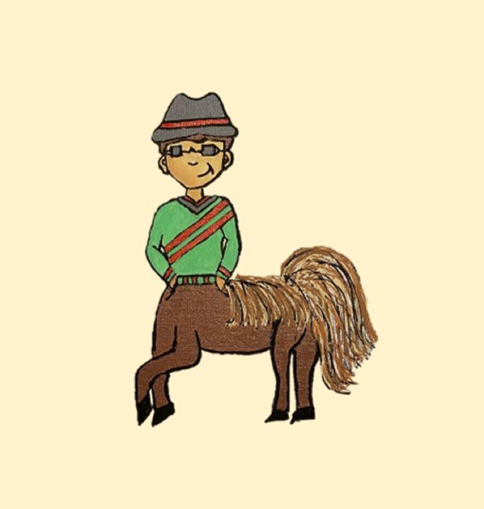Caleb, The Centaur Boy - Focus Point Art