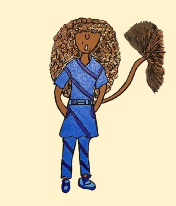 Dani, The Lion Girl - Focus Point Art