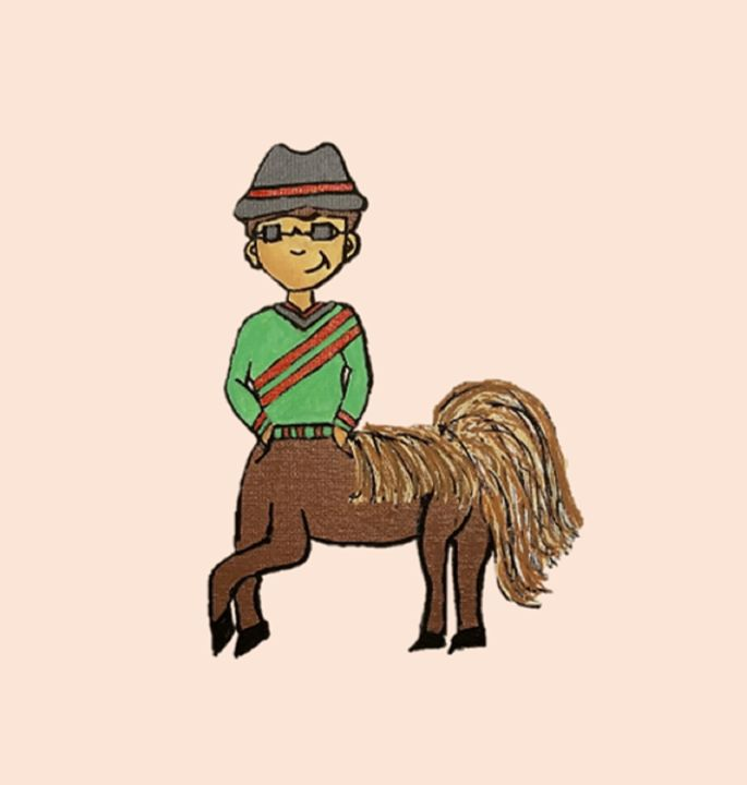 Caleb, The Centaur Boy - Focus Point Art