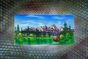 """iridium pond (sans beaver)"""