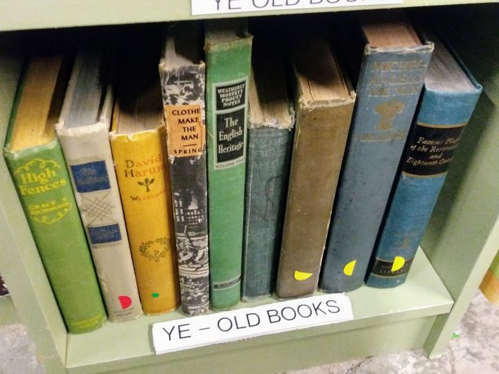 Old Book Smell - Meagen