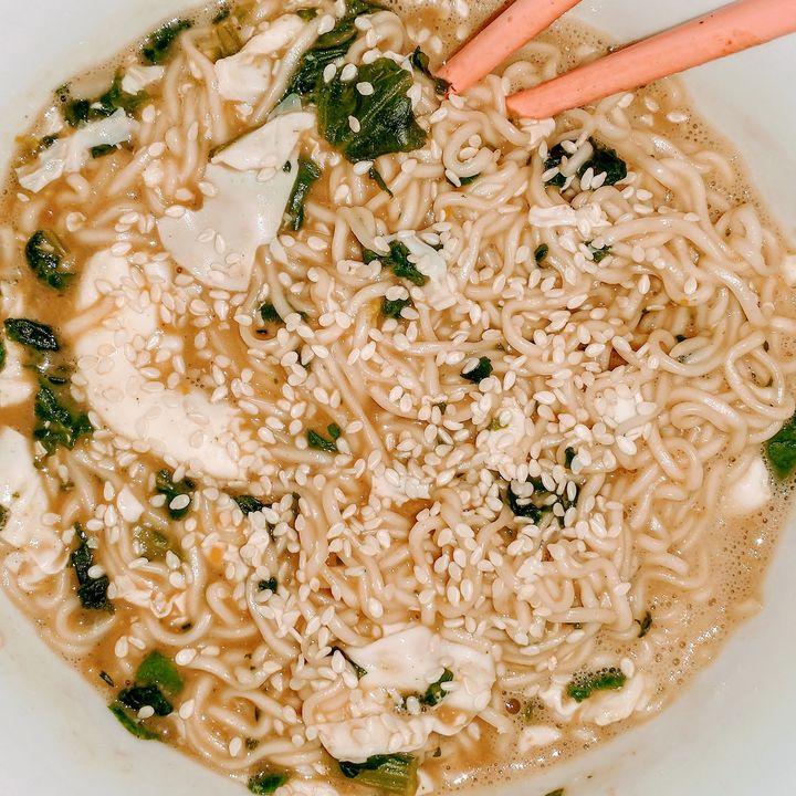 Yummy Sesame Ramen - Meagen