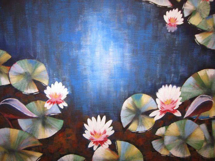 Water Lillies - Nicky Atkinson
