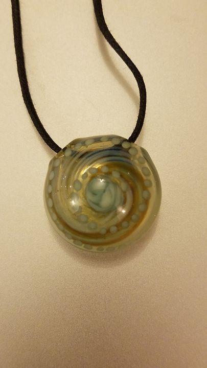 Glass Spiral Pendant - ottararts