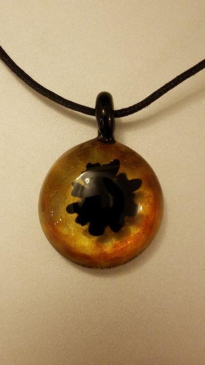 Black Blob Glass Pendant - ottararts