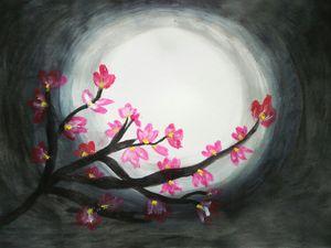 Cherryblossomspainting