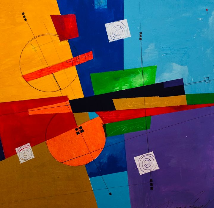 Geometric Melody - Quincy Fine Art