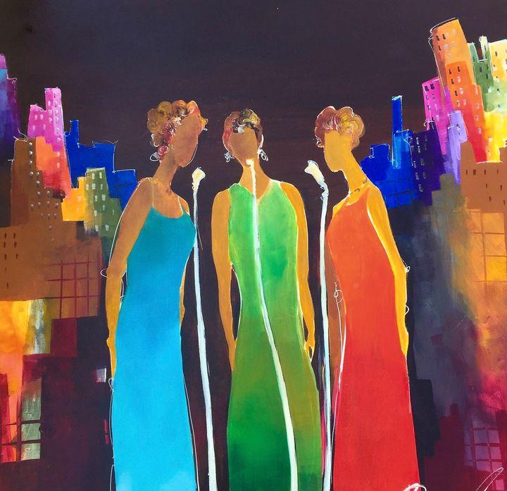 Sisters - Quincy Fine Art