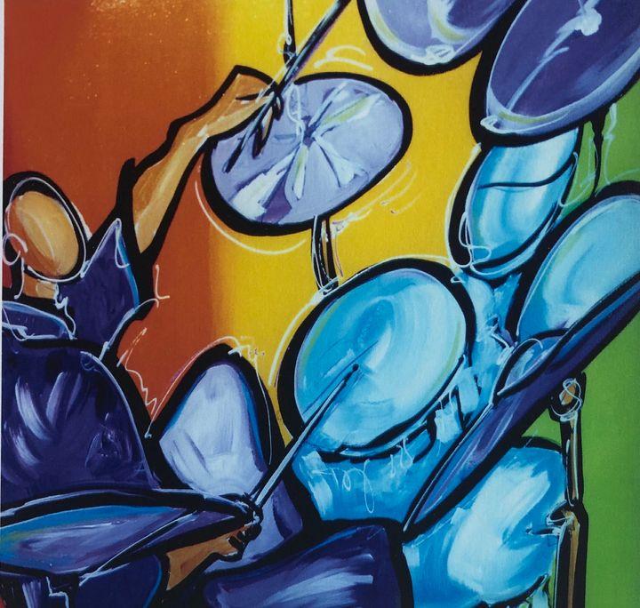 Blue Sticks - Quincy Fine Art