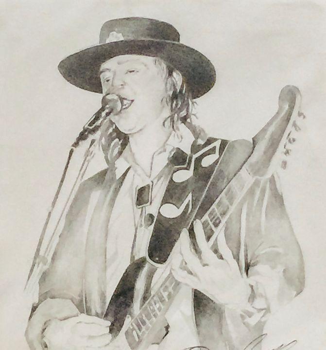 Stevie Ray Vaughn - Quincy Fine Art