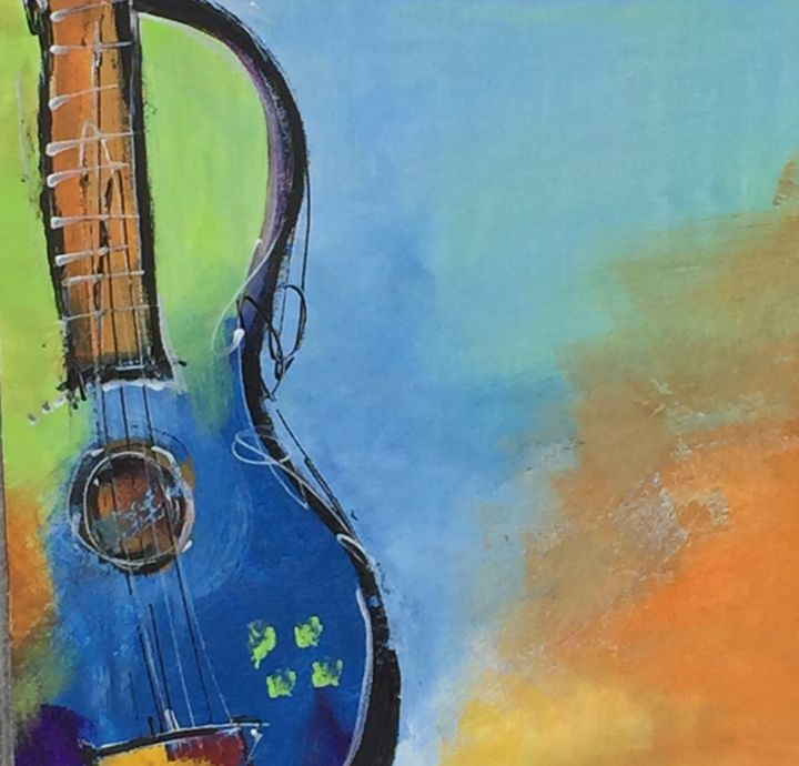 Guitarist - Quincy Fine Art