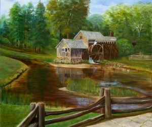 MABRY MILL - Marjorie Dodrill Fine Art