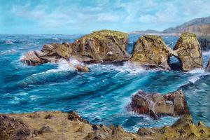 THE HEADLANDS - Marjorie Dodrill Fine Art