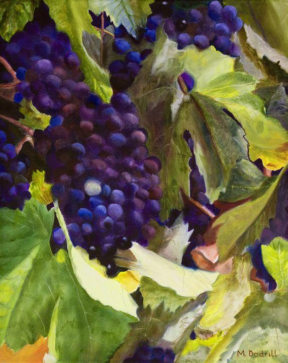 AUTUMN HARVEST - Marjorie Dodrill Fine Art