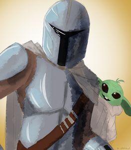 Mando and a Child