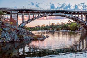 Sunset and Graffiti