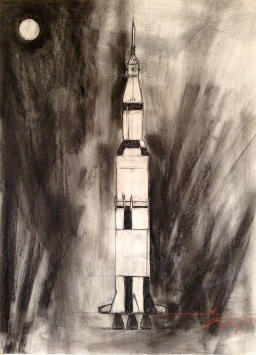 Saturn V - Andrew Downey