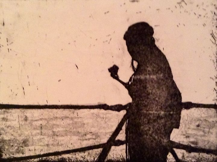 Sailor in shadow - Andrew Downey