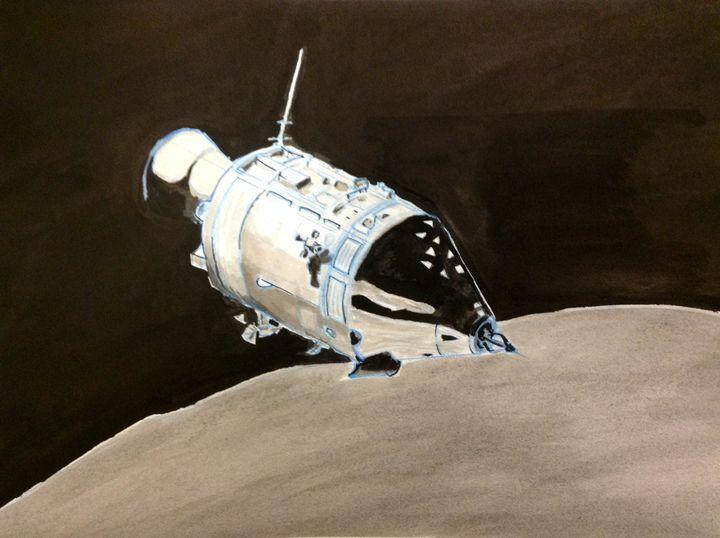 Apollo Space Capsule - Andrew Downey