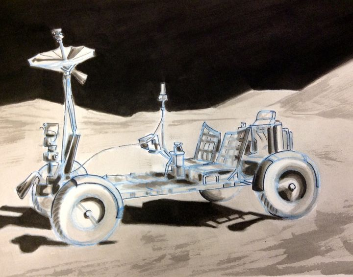 Moon buggy - Andrew Downey