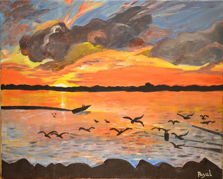 Sunset on Parlee Beach - Love for Art